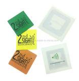 Qr 부호를 가진 작은 ISO14443A 둥글거나 정연한 NFC RFID 서류상 스티커
