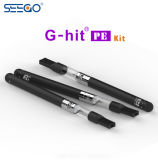 De g-Klap van Seego PE de Beschikbare Draagbare Pen van Cbd Vape met Touchscreen Eind