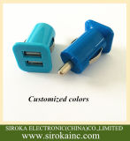 De dubbele Lader van de Auto USB voor Allerlei Mobiele Telefoon