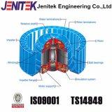 Вентиляторный двигатель вентиляции отработанного вентилятора для зеленой дома 220V