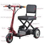 Vespa eléctrica de la movilidad de Topmedi para lisiado y las personas mayores