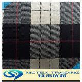Tissu de polyester de laine mélangée vérifiés pour l'uniforme scolaire