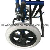 """Paréntesis de la cruz doble, """" sillón de ruedas Kbw871b de la rueda trasera 12"""