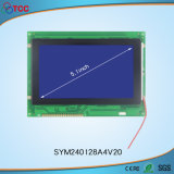 LCD Screen Display with White Backlight and SMT Type Clouded