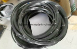 Trenzado de alambre de tungsteno para cortar (blanco y negro de color con cable)