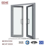 Puerta de aluminio insonora con las puertas de aluminio de cristal Windows de la capa doble