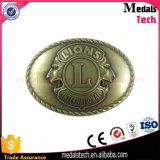 Qualitäts-niedriger Preis-Gold überzogene MetallEagel Gürtelschnalle