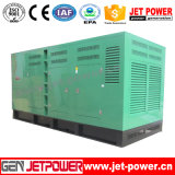 500kVA Soundproof Diesel Qsz13-G3 generator set for Industrial Use