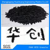 Granelli di Nylon66 di rinforzo fibra di vetro GF25 per materia prima