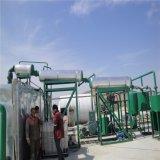 Totalmente automático equipo de reciclaje de aceite de neumáticos