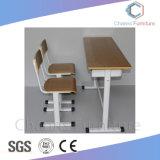 Bastidor de metal azul Popular Escritorio MDF Mobiliario Escolar (CAS-SD1817)