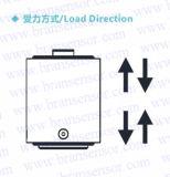 張力および圧縮力センサー(B323)