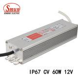 Smun Smv-60-12 60W 12VDC 5A는 일정한 전압 LED 운전사를 방수 처리한다