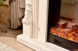 Cheminée électrique pour la décoration et le chauffage à la maison