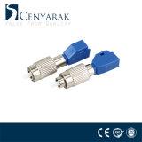 Adaptador de cable de fibra óptica acoplador FC/ LC Macho/Hembra Simplex se aplican a monomodo y multimodo