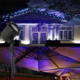 Для использования вне помещений ландшафтного освещения нескольких цветных лазерных проекторов