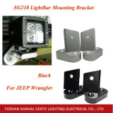 Silver car le support de feu de travail DEL pour Jeep