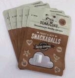 ナットおよび軽食のためのジッパーが付いている包装袋を立てなさい