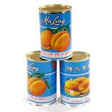 Заготовленных желтый персик