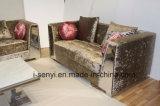 Sede italiana moderna del sofà 2 di ricezione dell'hotel della mobilia del salone