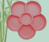 Qualität Eco Bambusfaser-Tafelgeschirr-Platte (YK-P4028)