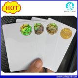 Projeta o cartão do PVC do holograma para a licença de excitador