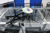 Rotierender beweglicher metallischer Draht spannt Verzierung-Ausstellungsstand mit Korb-Regal an