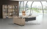 L 모양 현대 간단한 사무실 나무로 되는 행정실 책상 가구 (BL-1806)