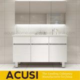 Vaidade modernas do banheiro do estilo italiano da mobília da madeira compensada da boa qualidade (ACS1-W97)