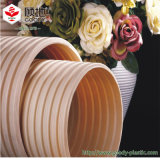 PVC-U doble pared del tubo de drenaje de plástico con tubo de PVC Lista