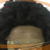 Peluca rizada profunda del cordón del pelo lleno de la Virgen (PPGL-0623)