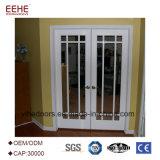 En aluminium poudré de portes et fenêtres en verre Prix de porte