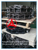 A sapata da trilha da máquina escavadora hidráulica de Sany