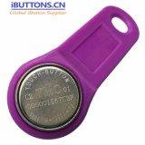 Глобальный уникальный идентификатор TM1990 с фиолетовой брелки для Aконтакт Trackers GPS
