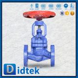 Valvola di globo aumentante lunga di Sndr del gambo di tempo di impiego di Didtek