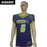 Sublimierte amerikanischer Fußball-Uniformen, Großverkauf passten amerikanischer Fußball-Hemd an