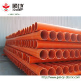 化学産業使用のための地下の電気ケーブルのプラスチック管