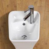 Loiça sanitária Loiça Casquilhos inteiriços, bacia de Pedestal para casa de banho (6015)
