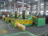 La pressa per balle idraulica del metallo per lo schiocco residuo delle coperture dell'automobile può bottaio d'acciaio del ferro che ricicla la macchina d'imballaggio