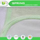 Verde amarillo Anti-Bacteria impermeable Sábana