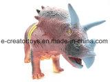 강력한 고대 공룡 Triceratops 6 작풍은 전자 장난감의 섞었다