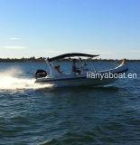 Liya 12passageiros China Barcos Costela Hypalon Aprovado pela CE