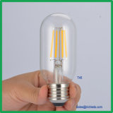 LED de intensidade regulável Lâmpada de Edison 4W/T45 lâmpada de filamento de LED/Ce/RoHS//Luz de Iluminação