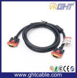 Qualitäts-Mann/männliches VGA-Kabel 3+9 für Monitor/Projetor
