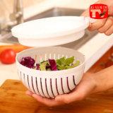 野菜サラダスライサーボールのカッタープラスチックサラダ切断ボール
