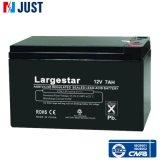 Batterie 12V 7ah der Gel UPS-Solarbatterie-tiefe Schleife-Batterie-nachladbare gedichtete Leitungskabel-Säure-Batterie-VRLA