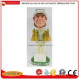 Figuras Polyresin Bobble Head do homem Bobblehead Doll dons