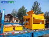 機械装置を作るセメントの煉瓦機械Qmy6-25移動式空の煉瓦