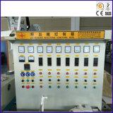 고압선과 절연제 밀어남 기계