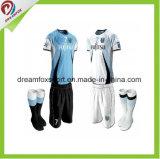 カスタムフットボールのジャージの方法高品質の製造業者のサッカーのユニフォーム